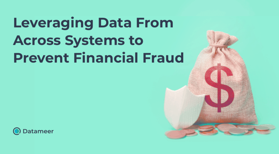 Leveraging Data to Prevent Financial Fraud