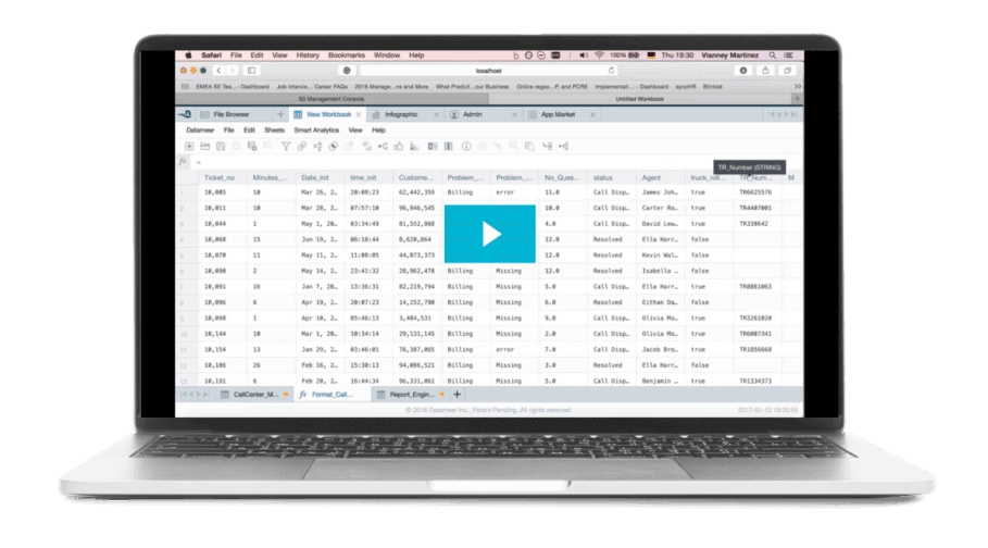 Big Data Analytics for Truck Roll and Improved Customer Service