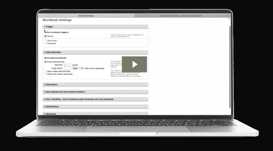 Workbook Configuration