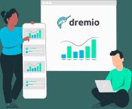Datameer Spotlight Versus Dremio - how does dremio work