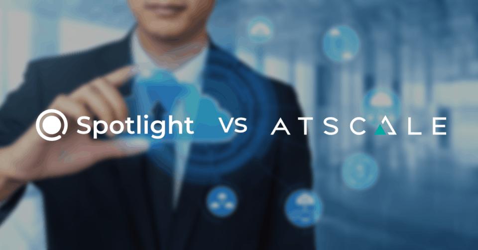 Datameer Spotlight versus AtScale