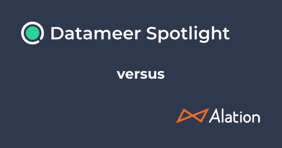 Datameer Spectrum & Alation