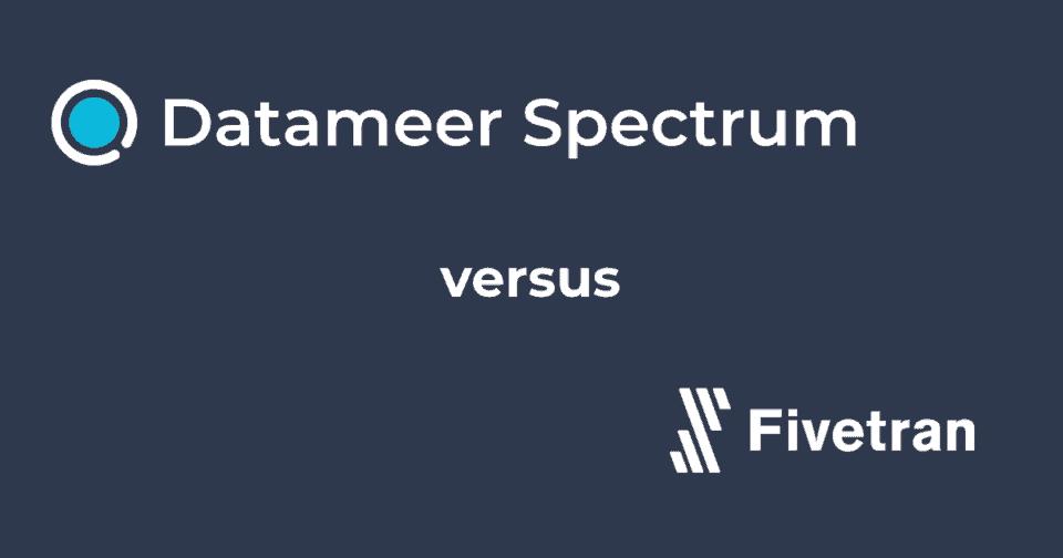 Datameer Spectrum & Fivetran