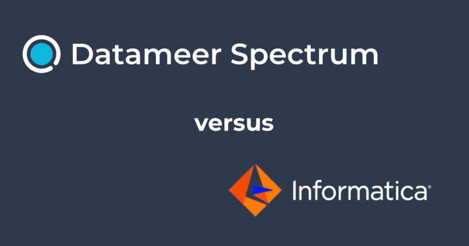 Datameer Spectrum & Informatica