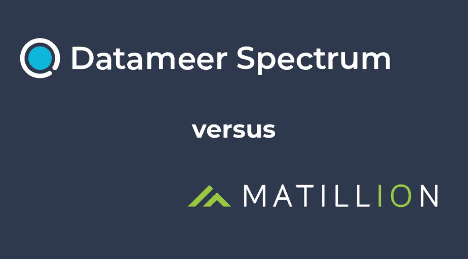Datameer Spectrum & Matillion