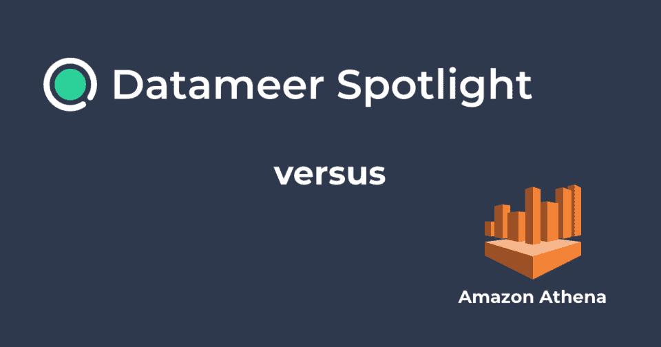 Datameer Spotlight & Amazon Athena