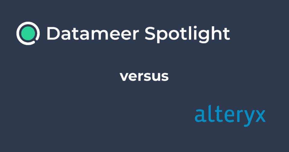 Datameer Spotlight & Alteryx