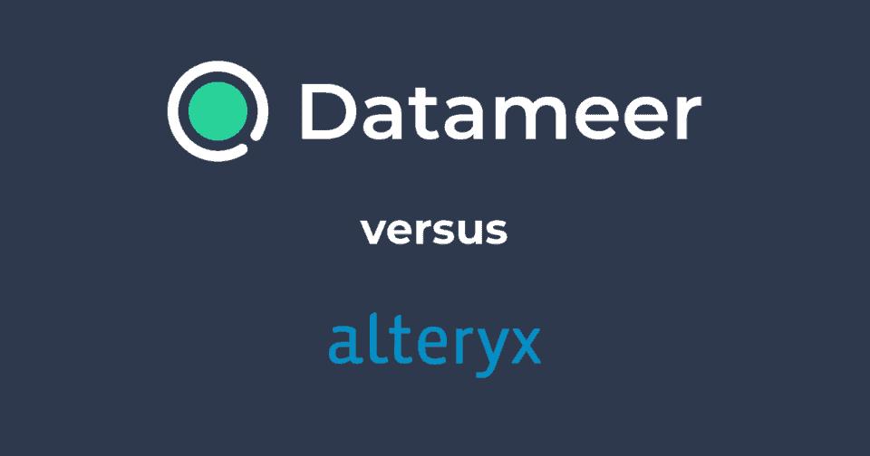 Datameer & Alteryx